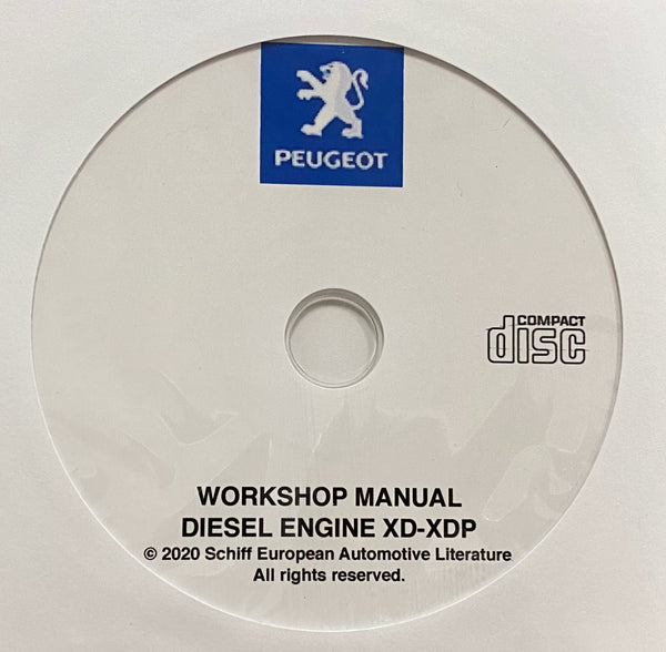 1964-1983 Peugeot Diesel Engine XD-XDP Workshop Manual