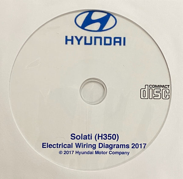 2017 Hyundai Solati (H350) Electrical Wiring Diagrams
