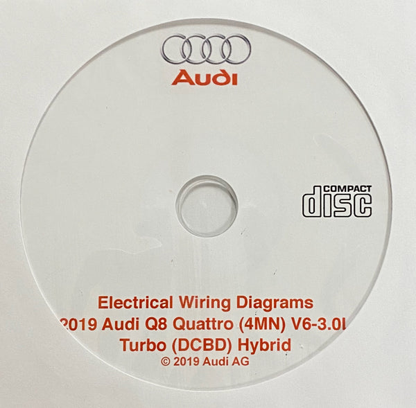 2019 Audi Q8 Quattro V6-3.0L Turbo Hybrid Electrical Wiring Diagrams