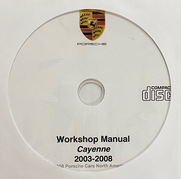 2003-2008 Porsche Cayenne 9PA Workshop Manual