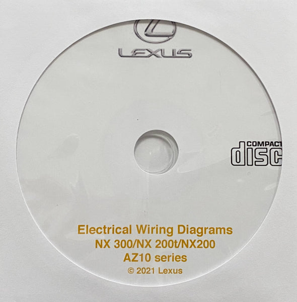2015-2021 Lexus NX300-NX200t-NX200 Electrical Wiring Diagrams