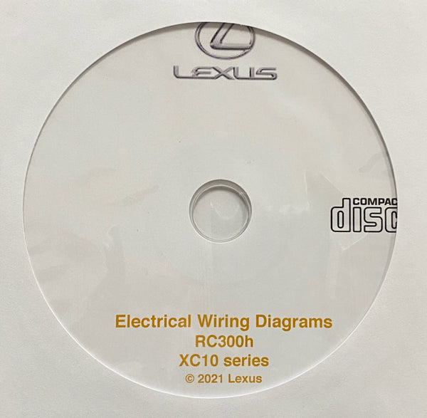 2015-2021 Lexus RC300h Electrical Wiring Diagrams