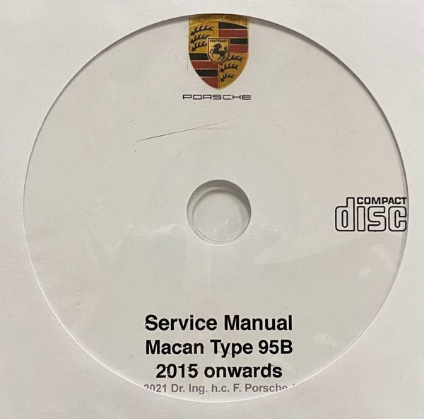 2015 onwards Porsche Macan (95B) Service Manual
