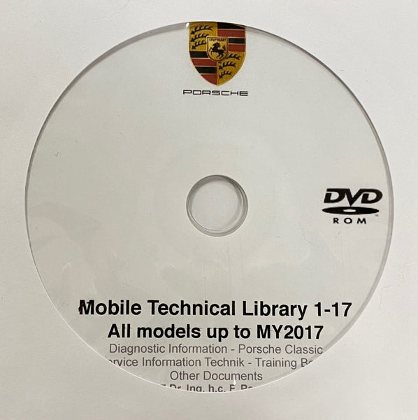 Porsche Mobile Technical Library up to MY2017