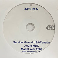 2007 Acura MDX USA/Canada Service Manual