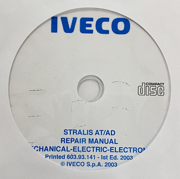 2002-2007 Iveco Stralis AT/AD models Workshop Manual