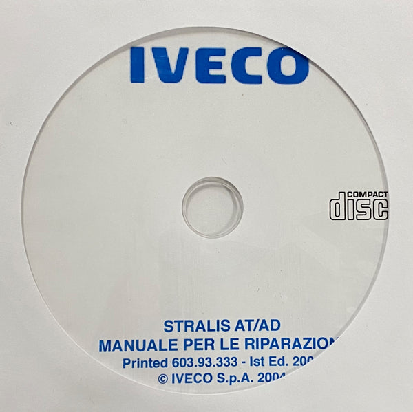 2002-2007 Iveco Stralis AT/AD models Workshop Manual in ITALIAN