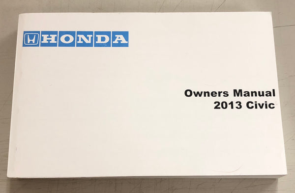 2013 HONDA CIVIC Owner's Manual