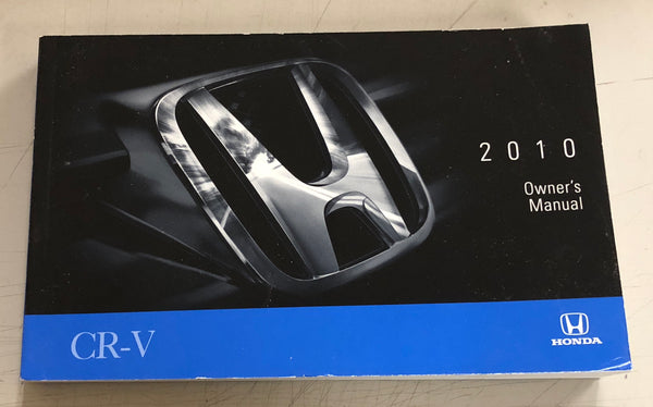 2010 HONDA CR-V Owner's Manual