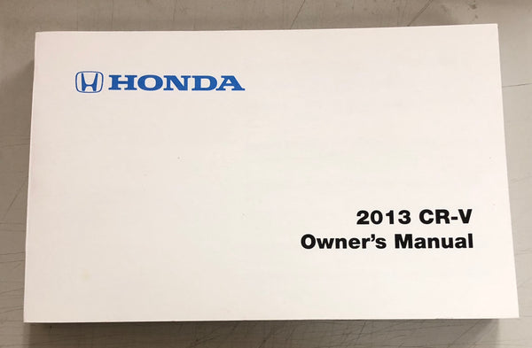 2013 HONDA CR-V Owner's Manual