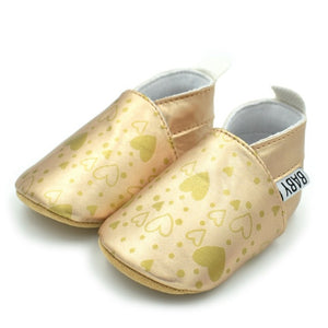 fd6ba5edb1a5 Spring Print Love Shoes Soft Bottom Baby Moccasins Infants Floral Print Baby  Toddler Shoes Newborn Babies