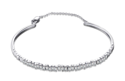 Hestia Jewels Love Diamond Bracelet