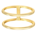 Zoe Lev 14k Gold Double Band Ring