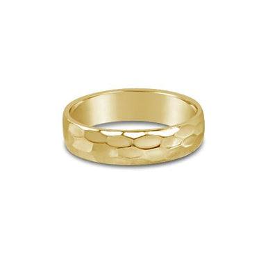 Glamrocks 14k Yellow Gold Filled Snakeskin Band Ring