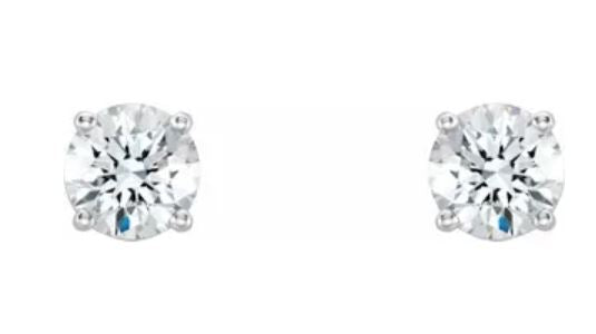 Lab-Grown Diamond 4-Prong Studs