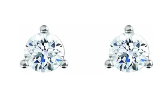 Lab-Grown Diamond 'Martini' Studs