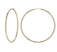 Zoe Lev 14k Gold Thin Hoops