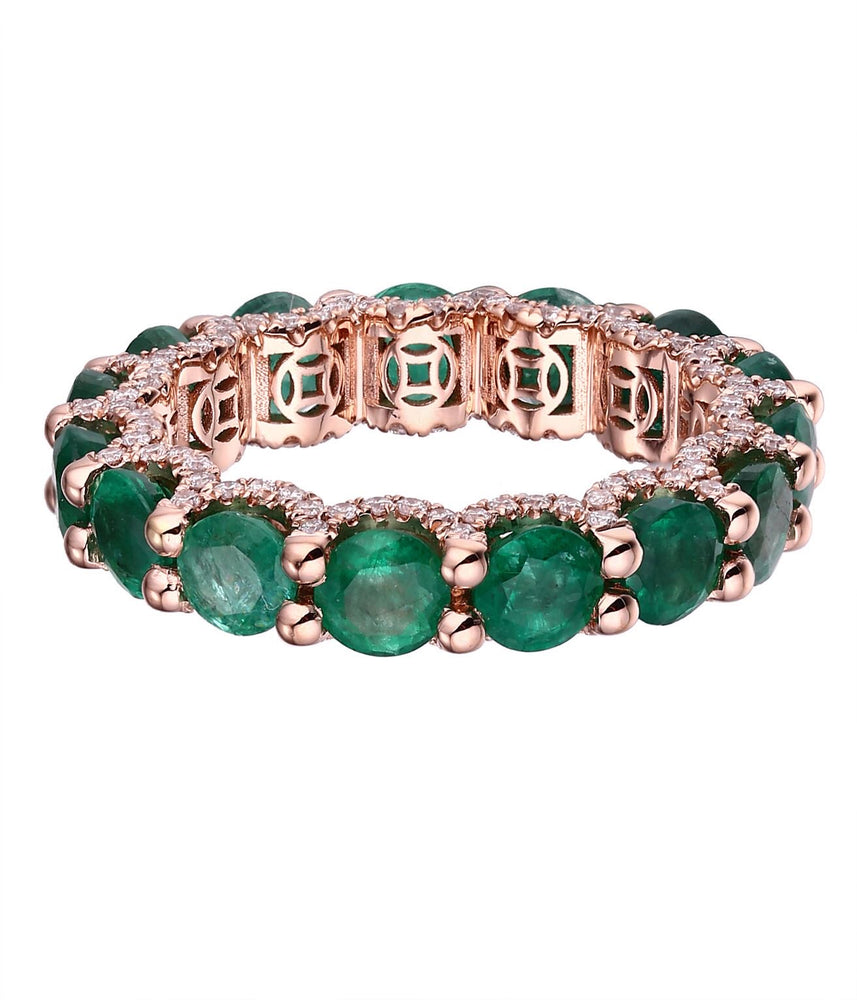LUISA ALEXANDER 'Holy Emerald Ring'