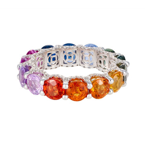LUISA ALEXANDER 'Holy Multicolor Sapphire Ring'
