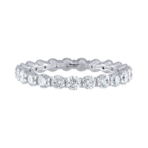 'Shared Prong' Eternity Band