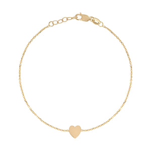 Kelly Bello Mini Heart Bracelet