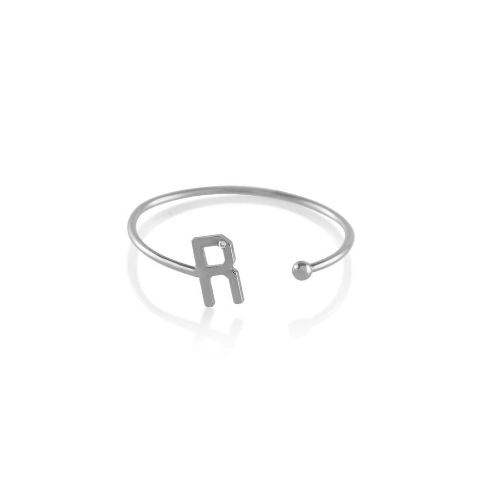 Kelly Bello Mini Letter Ring
