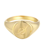Zoe Lev 14k Gold Small Signet Ring