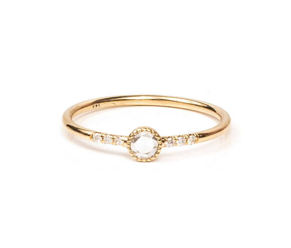 Ever Fine 'Rose Cut Sparkler Ring'