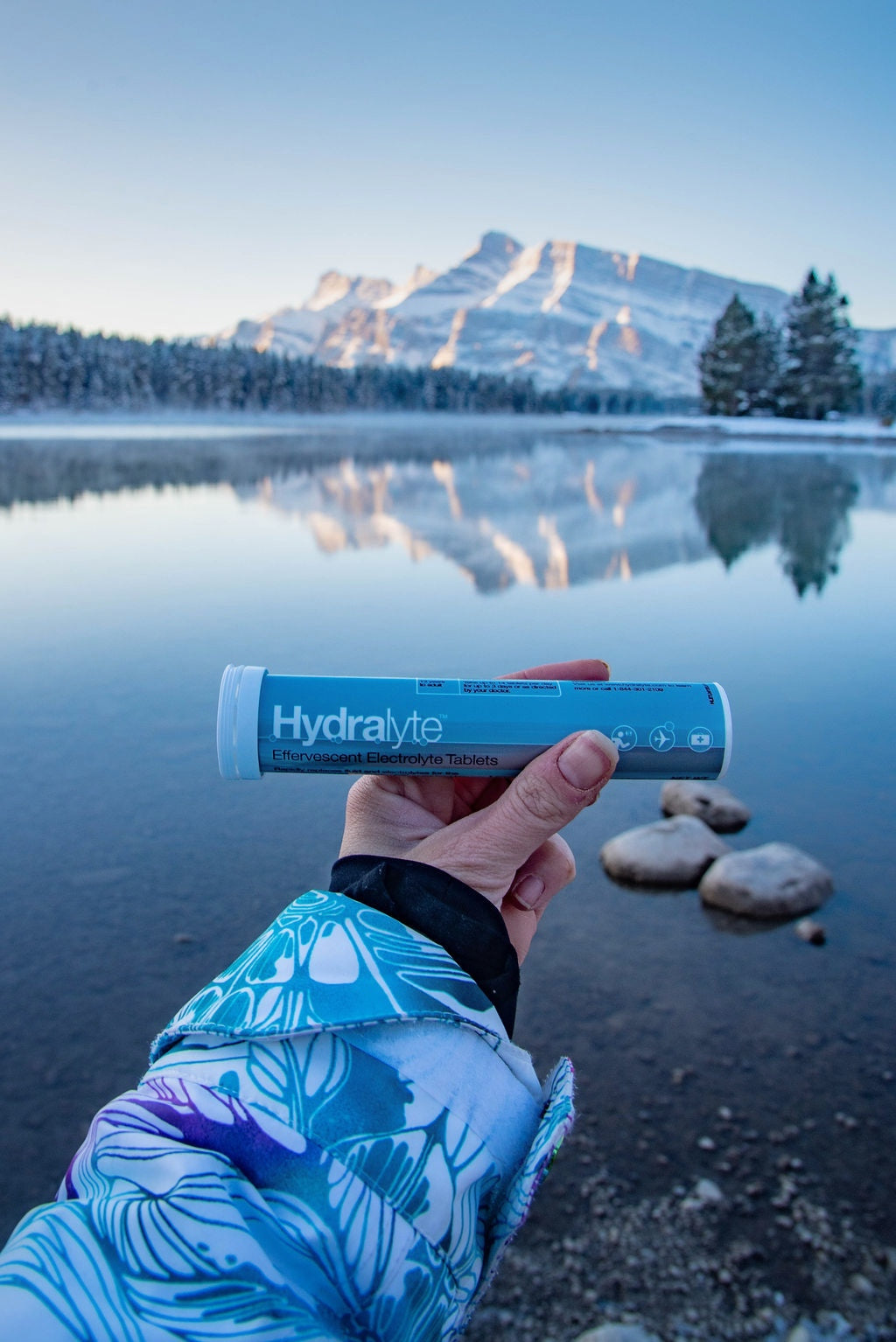 Using a rehydration supplement such as Hydralyte can help quickly replenish your fluids if experiencing winter dehydration.