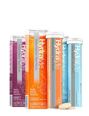 Electrolyte Effervescent Hydration Tablets