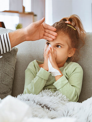 Fever and Stomach Flu Dehydration