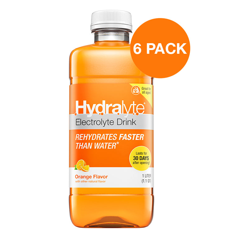 Oral Rehydration Solution, Orange