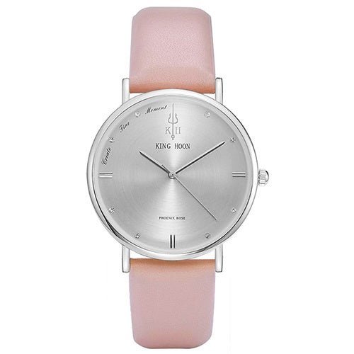 Ultra thin stainless steel quartz wristwatch