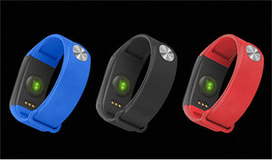 Fitness tracker waterproof smart bracelet