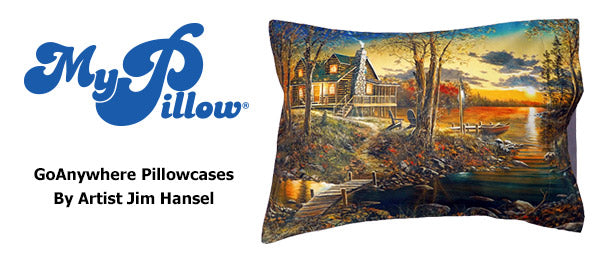 GoAnywhere Pillowcases by Jim Hansel