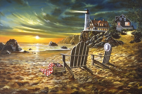 Picture of Seaside Rendezvous Original Oil