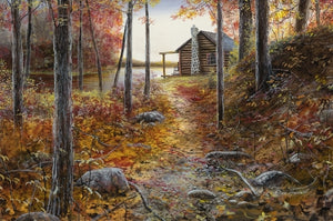 Picture of Whispers of Autumn Original Oil