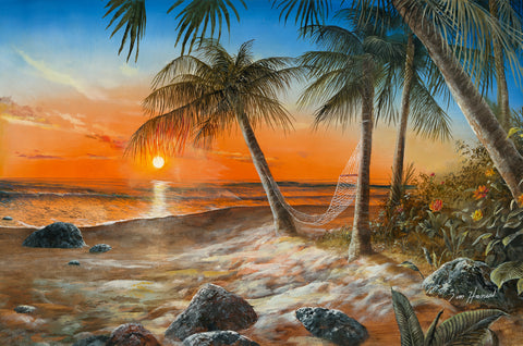Dreams of Paradise Original Oil