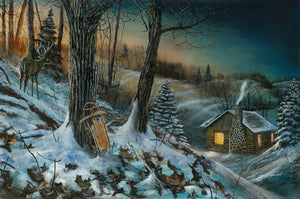 Frozen Memories Original Oil