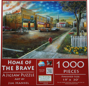 Home Of The Brave 1000 Piece Puzzle