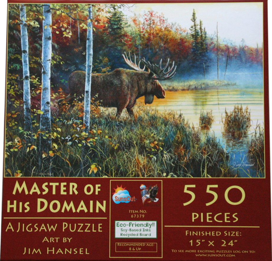 Master Of His Domaine 550 Piece Puzzle