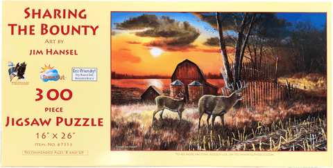Sharing The Bounty II 300 Piece Puzzle