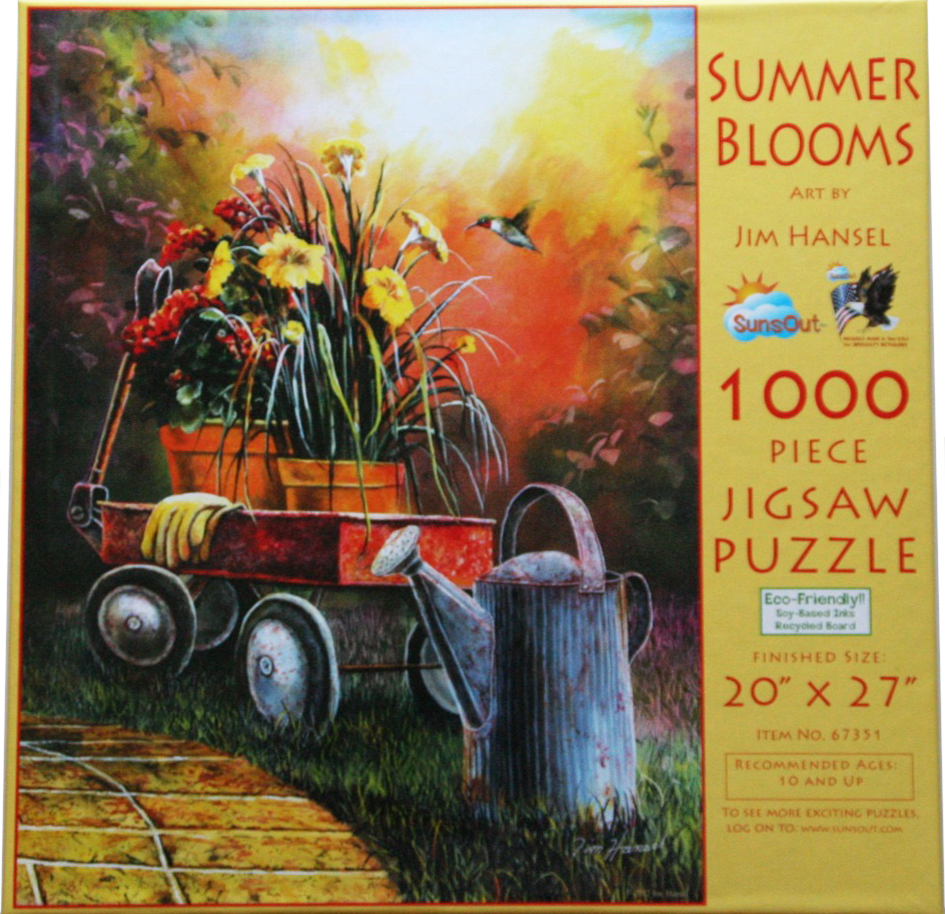 Summer Blooms 1000 Piece Puzzle