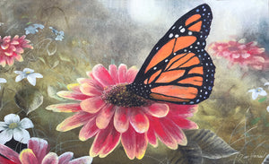 Garden Visitor - Monarch Butterfly Placemat