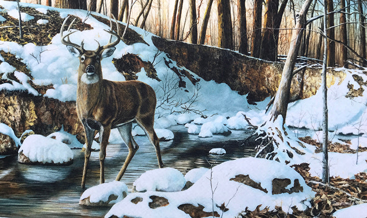 River Bottom Buck Placemat
