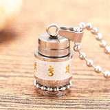 Stainless Steel Buddhism Necklace