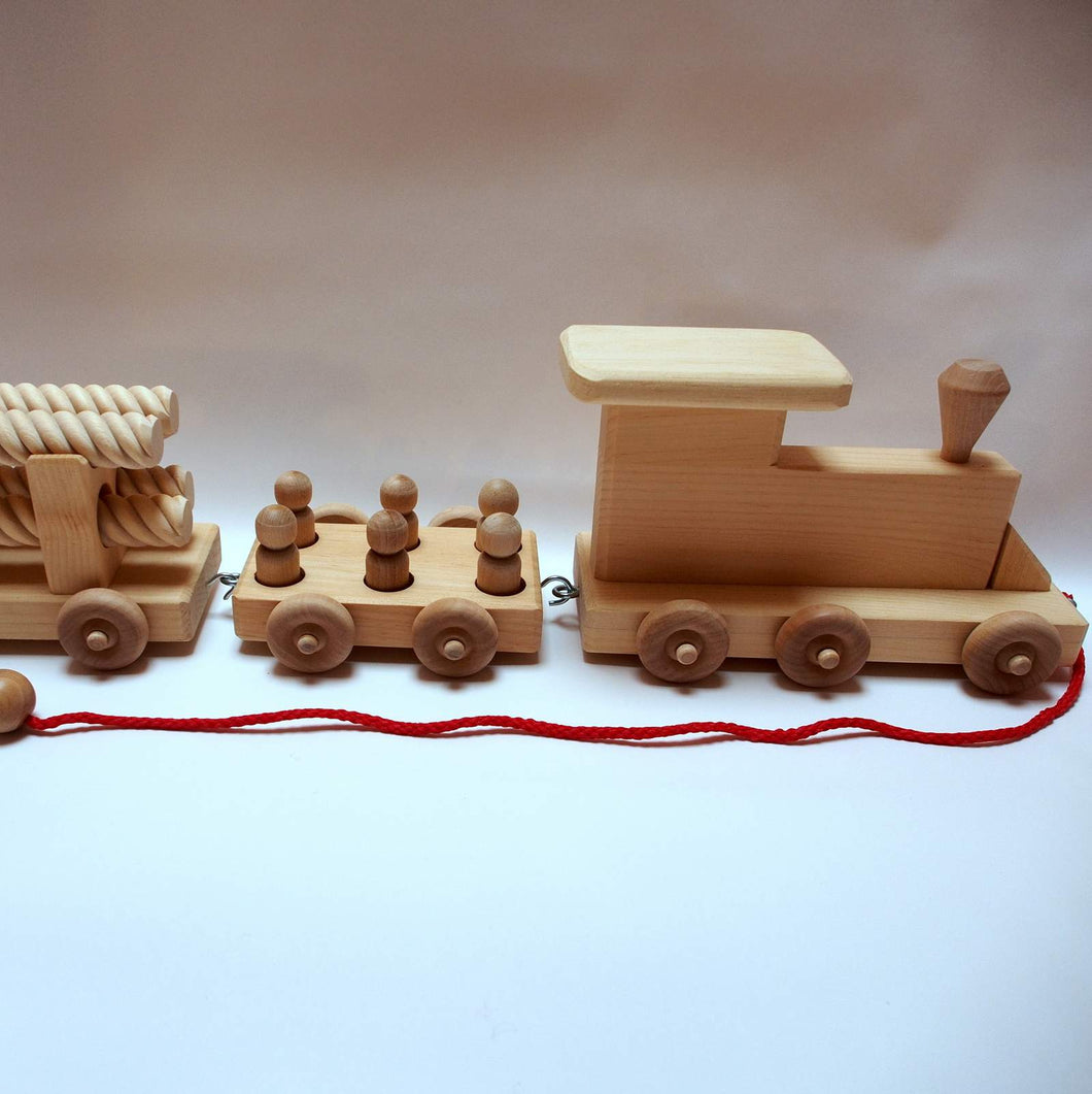 Three Car Train Set