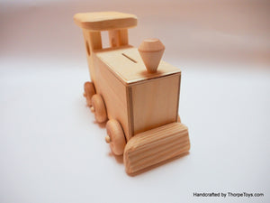 Train Engine Coin Bank