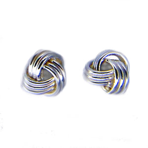 Ojewellery Micro Knot Sterling Silver 925 Earrings