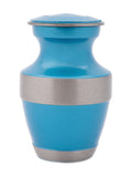 Aqua Blue Memento Pet Urn